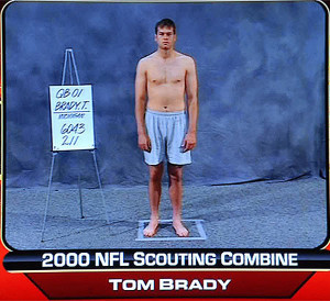 Tommy Terrific at the 2000 Combine