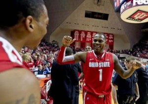 Deshaun Thomas and Lenzelle Smith feeling good in Assembly Hall