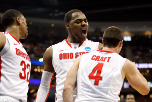 Deshaun Thomas, Lenzelle Smith and Aaron Craft during the 2012 tournaments
