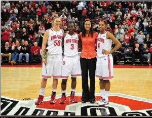 The Ohio State senior class celebrated Senior Day with a win over Michigan.