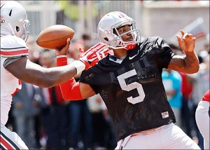 Braxton Miller letting it fly!