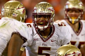 Jameis just found out his team dropped in the polls