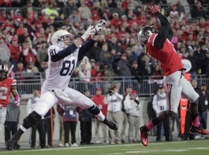 "Corey ""Pittsburgh"" Brown's interception on Penn State's opening possession set the tone for the game."
