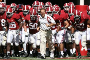 Satan err I mean Saban looks to lead the Tide back to the promise land