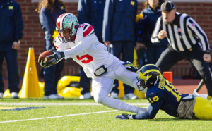 Braxton Miller accounted for four touchdowns against the Wolverines, including 3 on the ground.