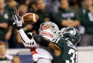 "Michigan State's ""No-Fly Zone"" was on display"