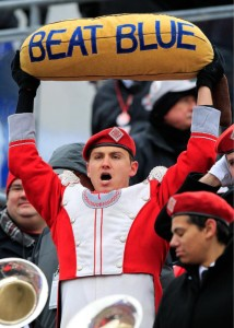 The banana concisely sums up the OSUMB's feelings about last weekend.