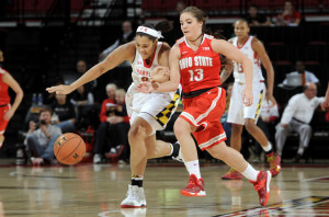 At least Maryland's women's basketball uniforms aren't as ugly as their football ones.